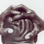 Beide Handen Hoofd in handen in Balans