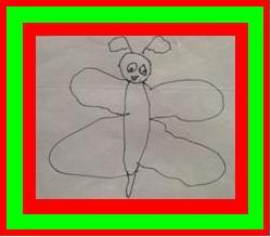 Citroenvlinder met lijst