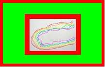 De eerste C in regenboogkleuren