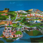 Hundertwasser Landschap
