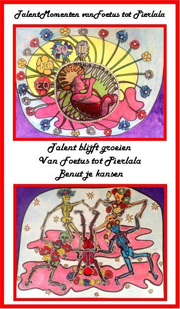 Ik begrijp nu hoe je de dood op een vrolijke manier kunt verbeelden met dank aan Henri Matisse, Keith Haring en Damien Hirst