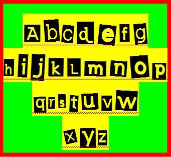 Alfabet solo 4 You